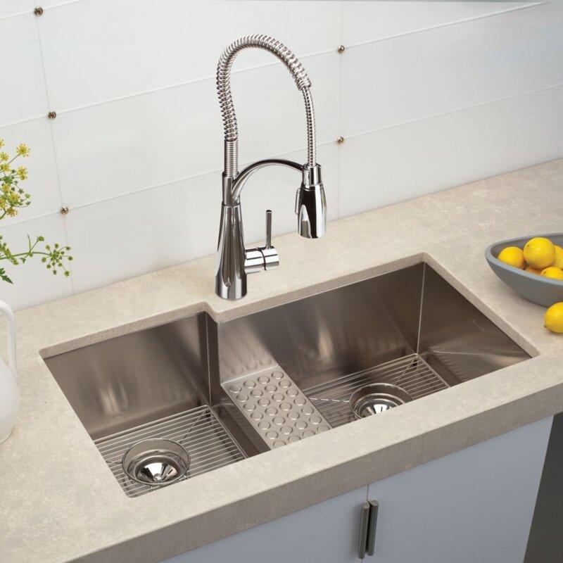 Elkay crosstown 36 x 21 double basin undermount kitchen sink crosstown 36 x 21 double basin undermount kitchen sink workwithnaturefo