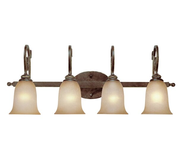 Melba 4-Light Vanity Light by Fleur De Lis Living