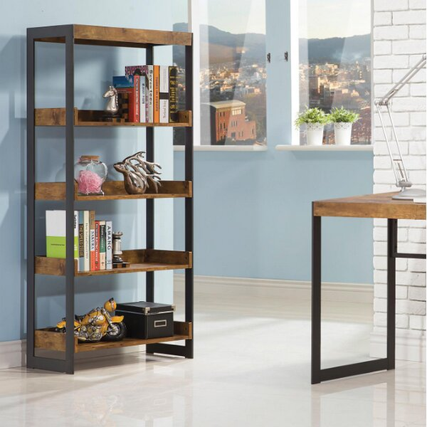 Darrel Etagere Bookcase by Modern Rustic Interiors
