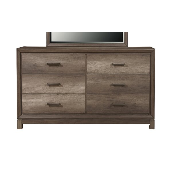 Pinehur 6 Drawer Double Dresser By Gracie Oaks