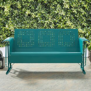 Kishore Glider Bench Red Barrel Studio Today Sale Only