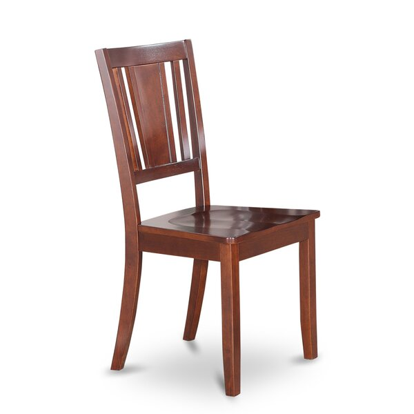Dudley Solid Wood Dining Chair (Set of 2) by Wooden Importers