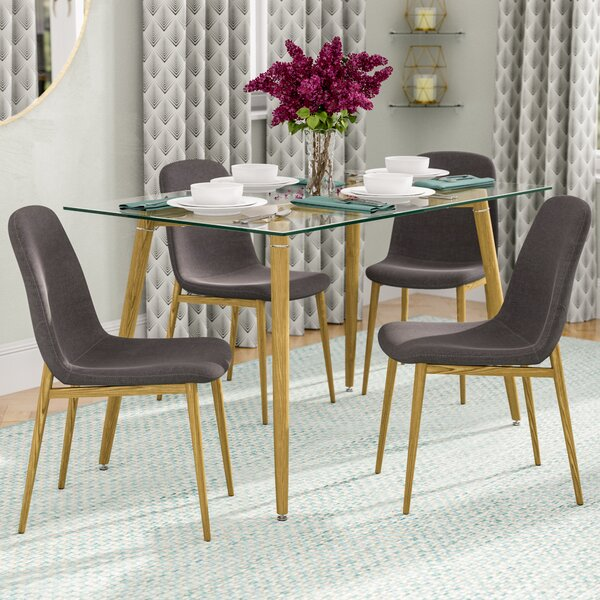 Goodman 5 Piece Dining Set by Brayden Studio
