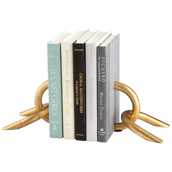 Goldie Locks Book Ends (Set of 2) by Cyan Design