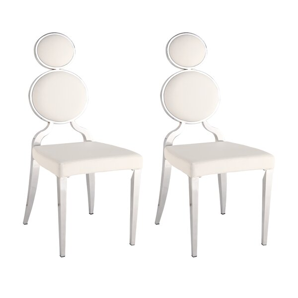 #2 Oprah Side Chair (Set Of 2) By Chintaly Imports New Design