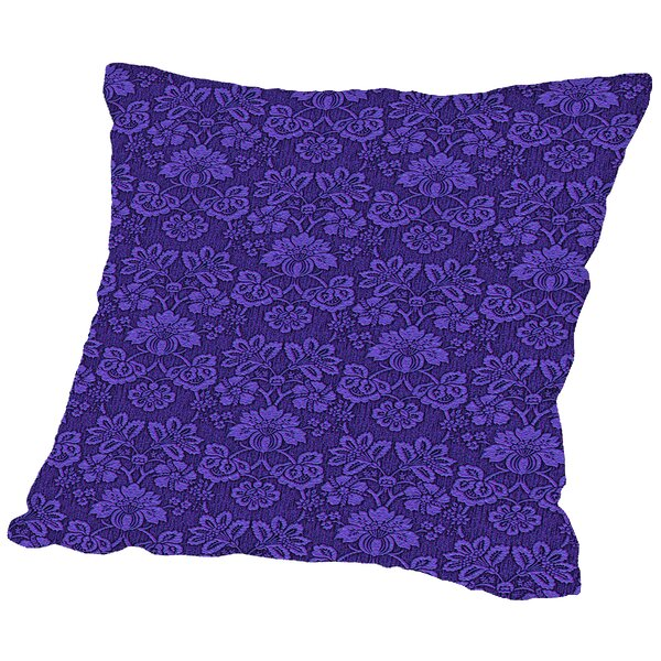 Wallpaper Throw Pillow by East Urban Home