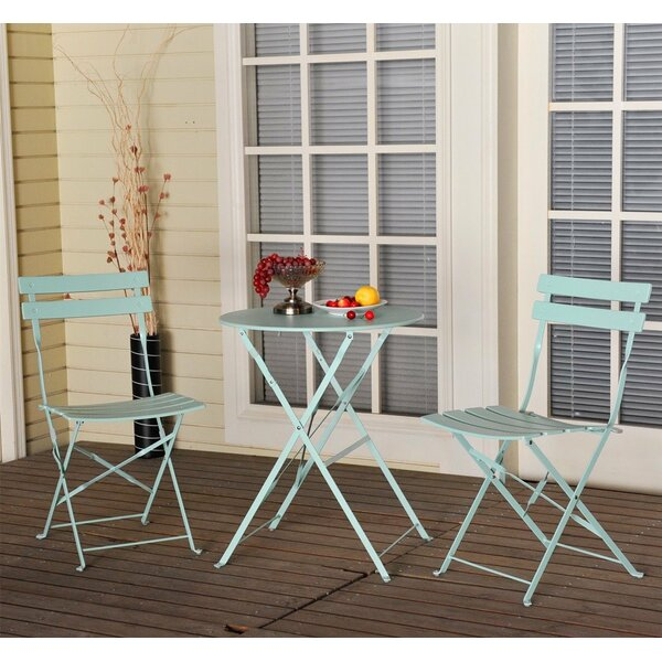 Vanwyk 3 piece Bistro Set by Ophelia & Co.