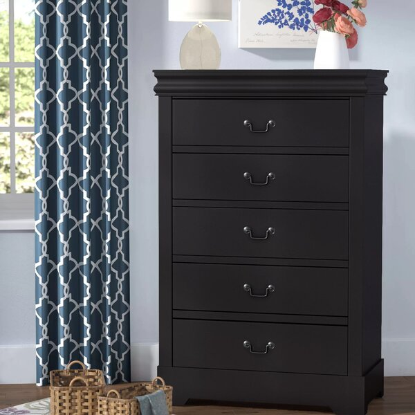 Larrabee 5 Drawer Chest by Alcott Hill