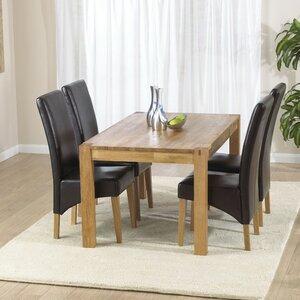 Essgruppe Florence mit 4 Stühlen von Home Etc