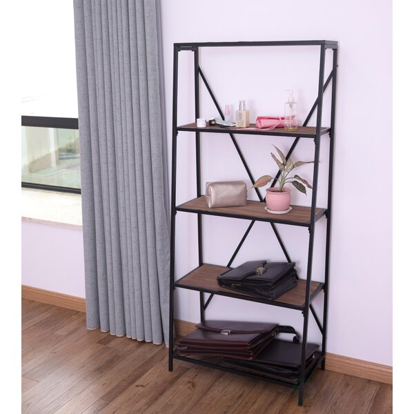 Salmon Etagere Bookcase by Williston Forge