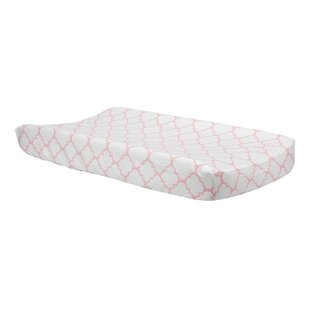 Reviews Trader Quatrefoil Changing Pad Cover By Harriet Bee
