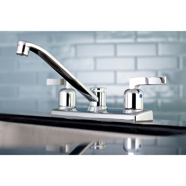 Centurion Centerset Double Handle Kitchen Faucet by Kingston Brass