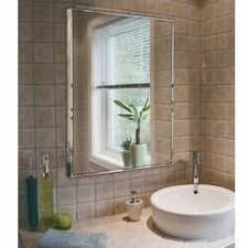 Frameless Mirrors For Bathrooms modern bathroom mirrors | allmodern