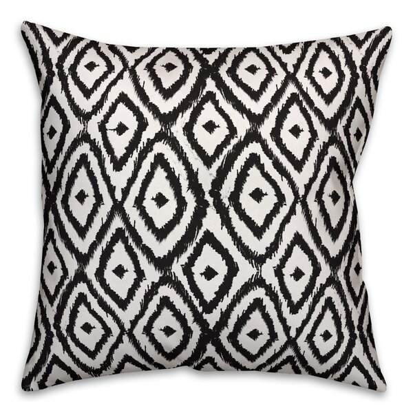 Elmsford Pattern Outdoor Throw Pillow by Bungalow Rose