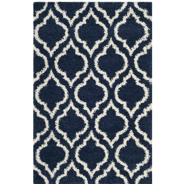 Melvin Blue/Beige Area Rug by Charlton Home