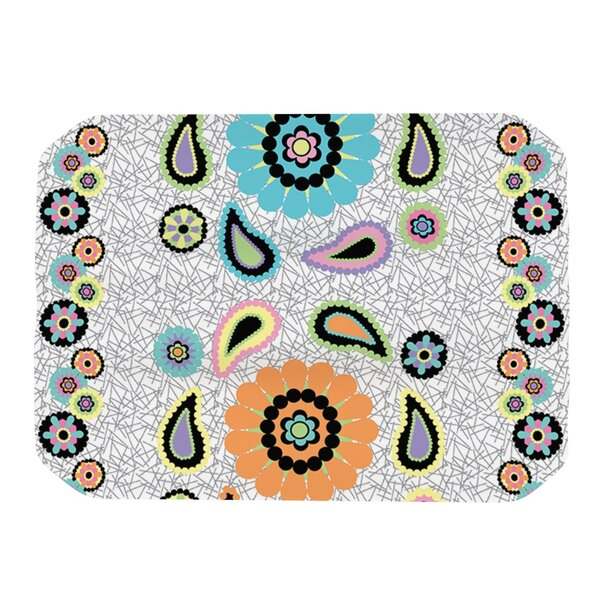 Moda Paisley Placemat by KESS InHouse