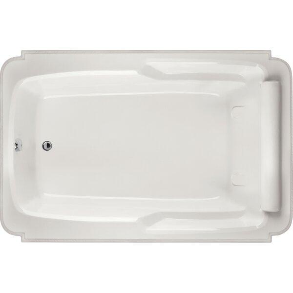 Designer Atlandia 74 x 48 Soaking Bathtub by Hydro Systems