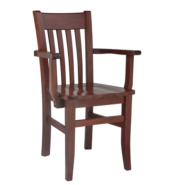Henson Solid Wood Dining Chair by Breakwater Bay