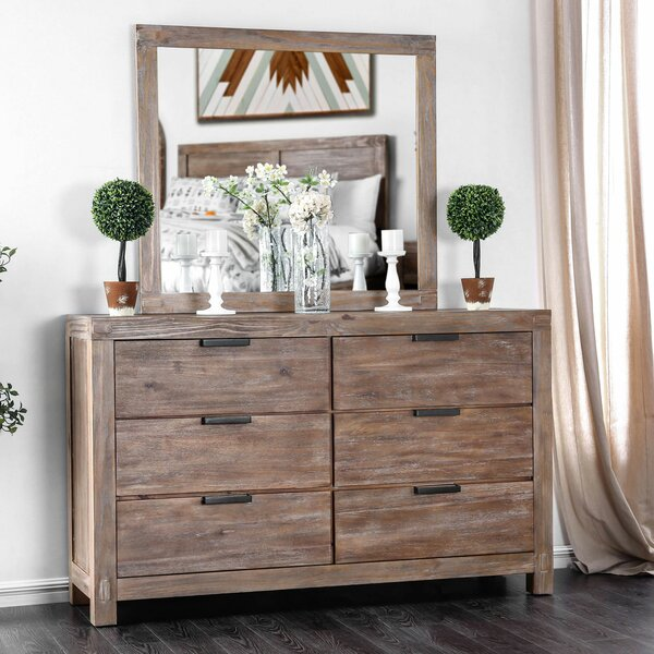 Atia 6 Double Dresser by Gracie Oaks