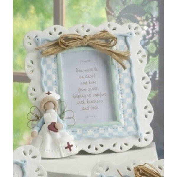 Nurse Heavenly Angel Photo Picture Frame (Set of 6) by The Holiday Aisle