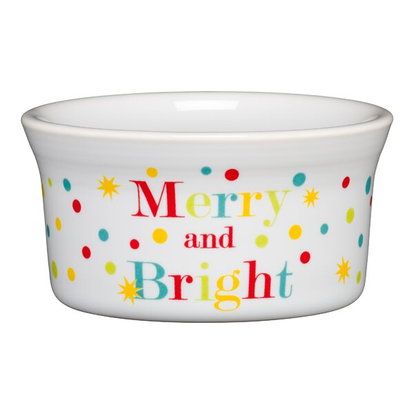 Round Ramekin Merry and Bright by Fiesta