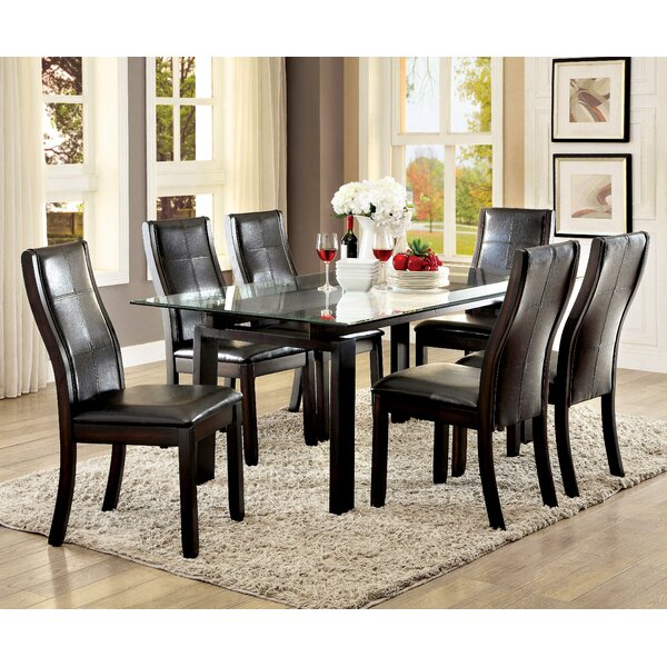 Norrell 7 Piece Dining Set by Wrought Studio