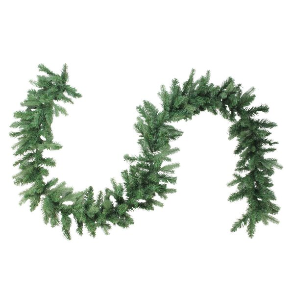 Coniferous Artificial Christmas Garland by The Holiday Aisle