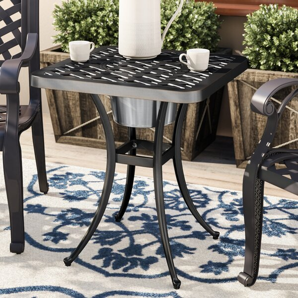 Parramore Cast Aluminum Bistro Table by Andover Mills