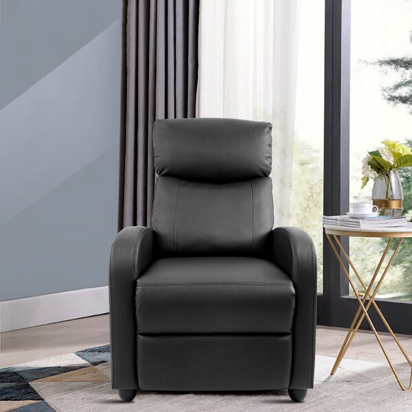 Routt Faux Leather Manual Recliner W003409243