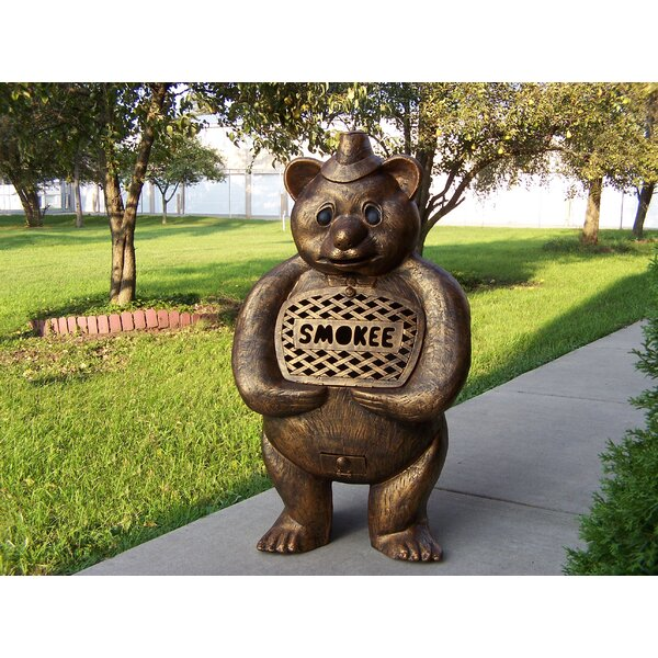 Smokee Bear Aluminum Wood Burning Chiminea by Oakland Living