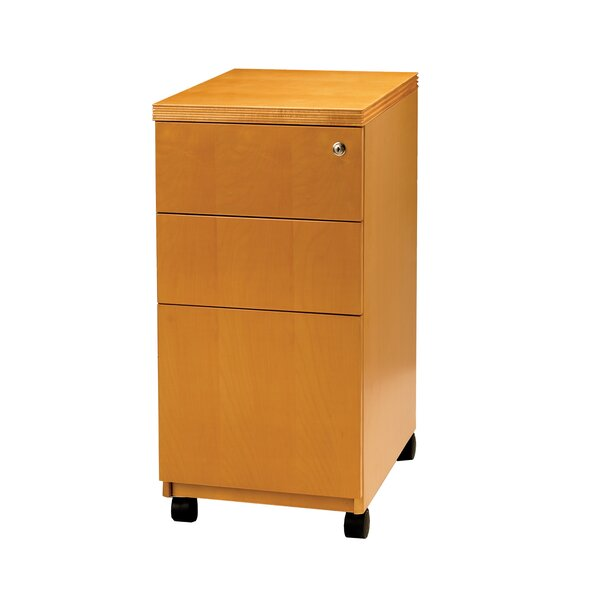 Luminary Series 3-Drawer Pedestal Files by Mayline Group