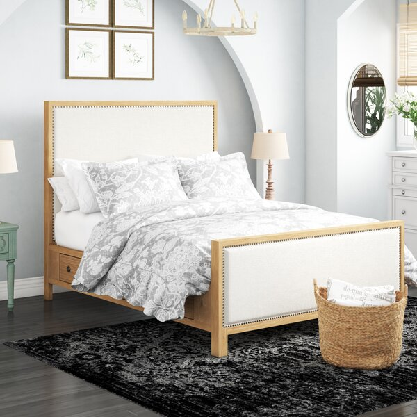 Wallingford Upholstered Storage Platform Bed by Feminine French Country