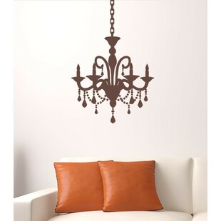 Great Cottage Chandelier Wall Decal
