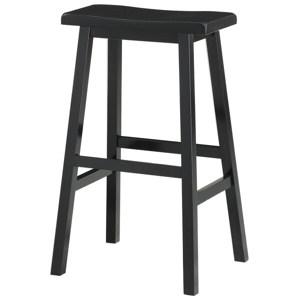 Hage 29 Bar Stool by Breakwater Bay