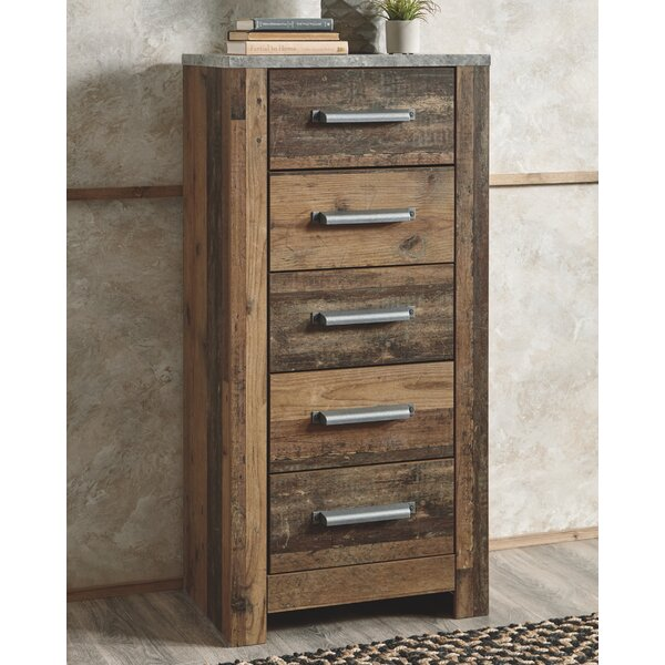 Fairfax Narrow 5 Drawer Chest By Foundry Select by Foundry Select Bargain