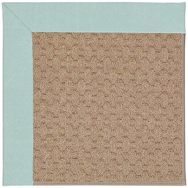 Croker Tufted Ocean/Gray Indoor / Outdoor Area Rug
