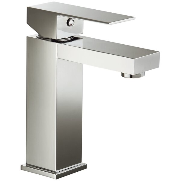 Single hole Bathroom Faucet with Drain Assembly by Dawn USA