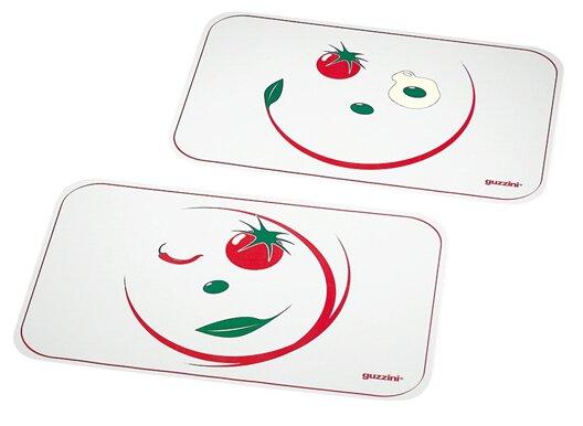 Art & Pizza 2 Piece Placemat (Set of 2) by Guzzini