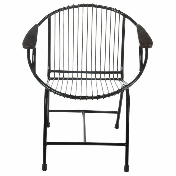 Borst Metal Wire Lounge Chair by Brayden Studio