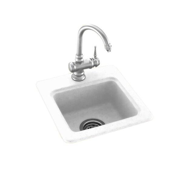Swanstone 15 L x 15 W Bar Sink