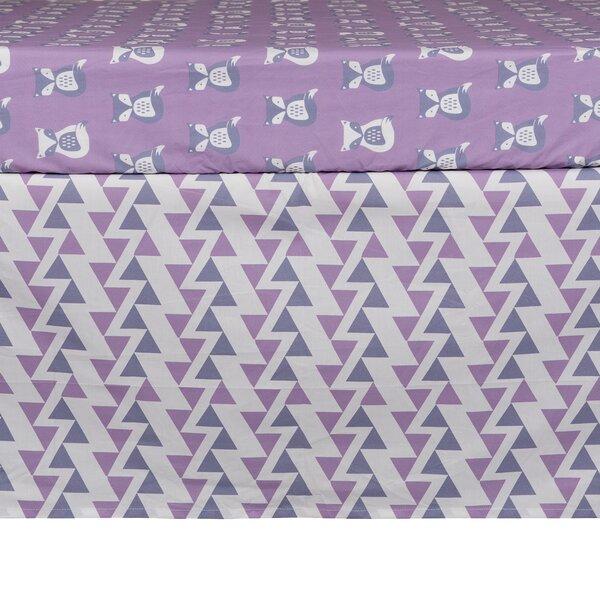 Lolli Mod Zigzag Crib Skirt by Lolli Living
