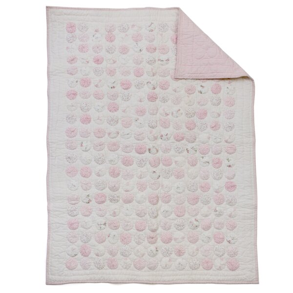 Urbanna Pom-Pom Baby Quilt by Greyleigh