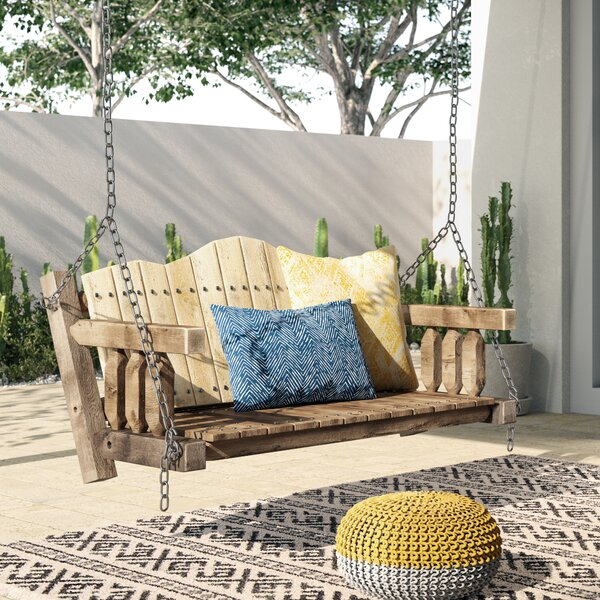 Abella Swing Seat with Chains by Loon Peak