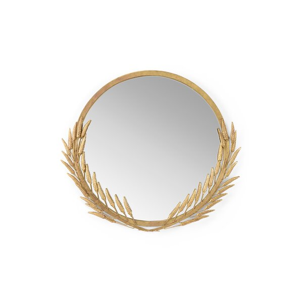 Wheat Accent Mirror by Wildwood