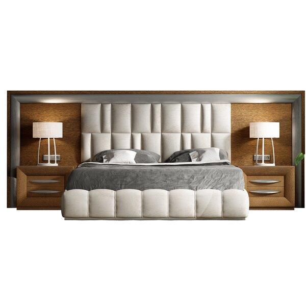 Rone Upholstered Standard Bed by Brayden Studio