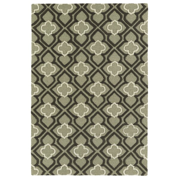 Cogar Handmade Sage Area Rug by Charlton Home