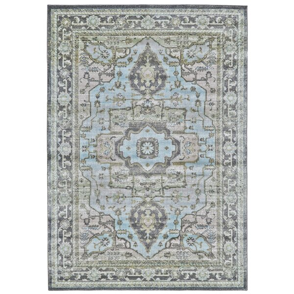 Reimer Taupe/Castle Area Rug by Charlton Home