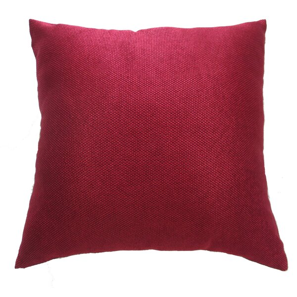 Luxurious Abstract Decorative Chenille Throw Pillow by Violet Linen