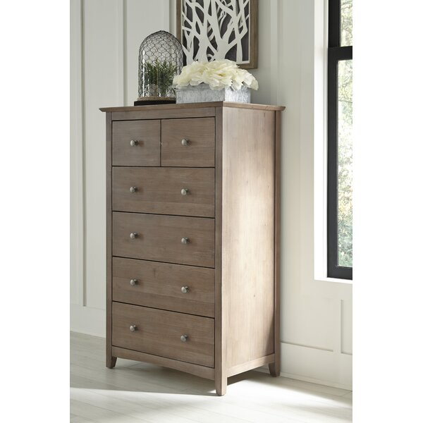 Craft 6 Drawer Chest by Rosecliff Heights