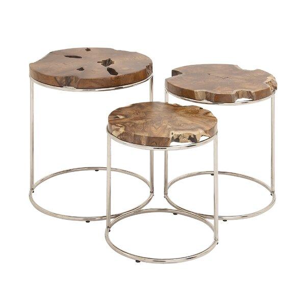 Coleharbor 3 Piece Nesting Table by Bungalow Rose
